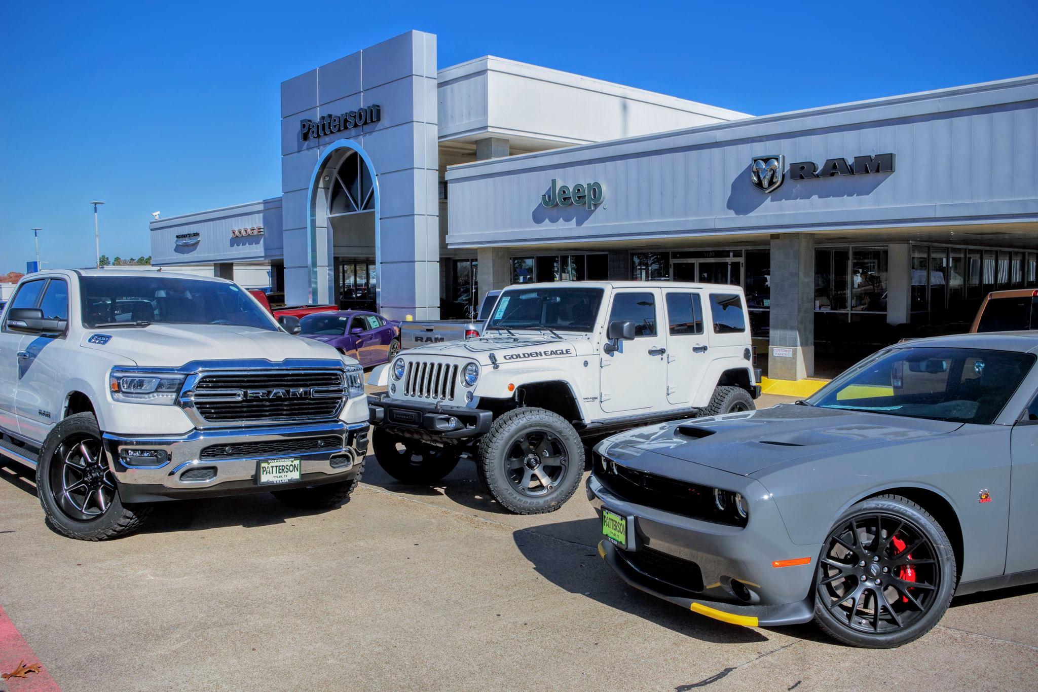 dodge dealership tyler tx Patterson Dodge Chrysler Jeep Ram  Dealership in Tyler